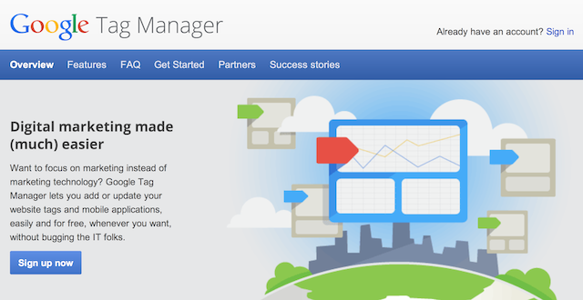 A screenshot from Google Tag Manager