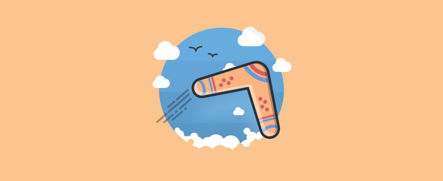 Boomerang - Headerbild für Blogbeitrag