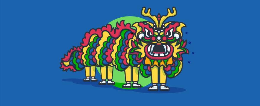 Chinesischer Drachen – Titelbild für Blogbeitrag zu B2B-Kundenservice