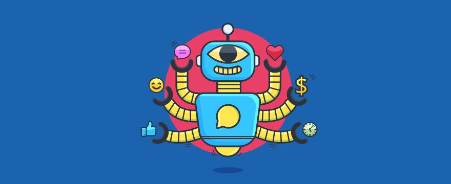 indischer Chatbot-Gott – Headerbild für Blogbeitrag Chatbot-Vorteile