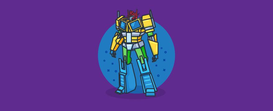 transformer – Titelbild für Blogbeitrag zu Chatbot Features