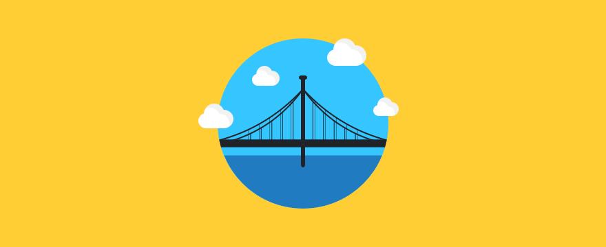 eine Brücke – Headerbild für Blogbeitrag zu Kommunikationskonzepten