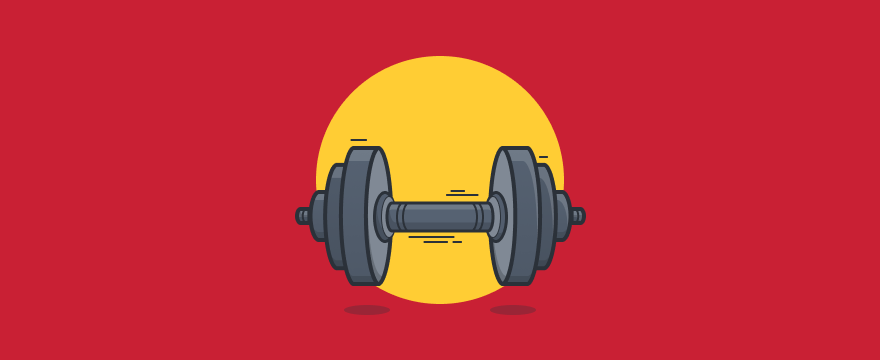 dumbbell - header image for 6 Communication Exercises for Better Meetings and Discussions