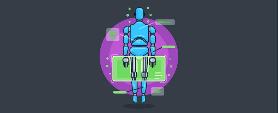 Ein Cyborg – Titelbild für Blogbeitrag zu Kundenanalyse