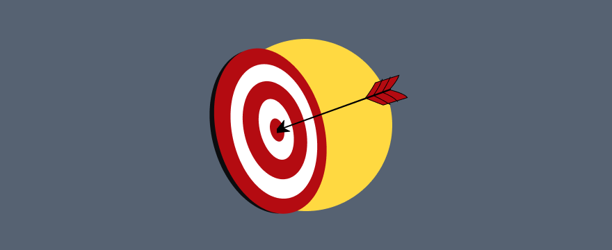 Feather arrow in a bullseye- Header Image for How to Wield the 4 Customer Benefits for Pure Persuasion