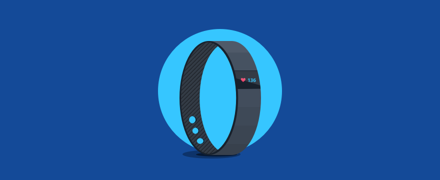 a fitbit watch – header image for customer health score post