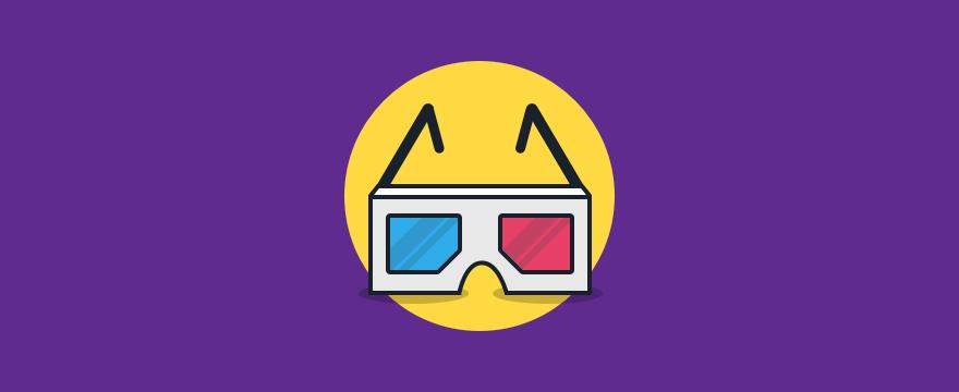 3D glasses - header image for blog post on customer perception