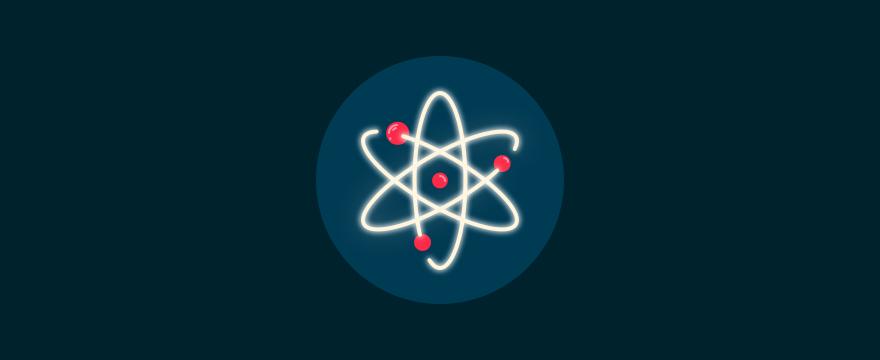 Atomic symbol, to symbolize customer service principles.