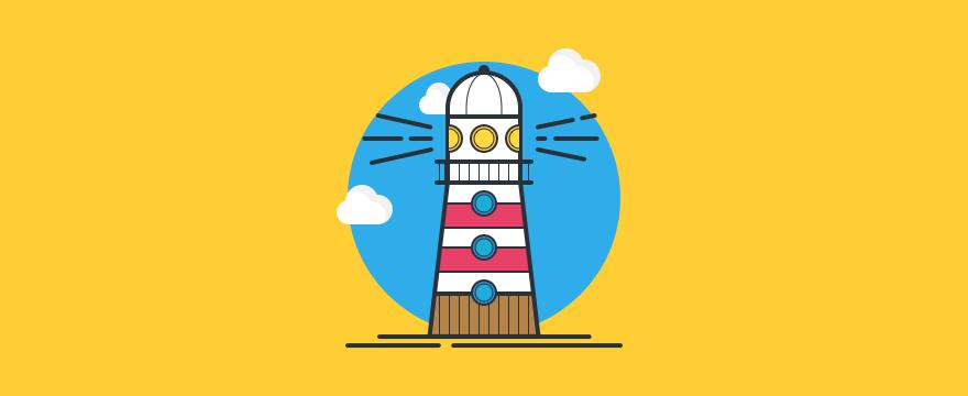 A lighthouse to symbolize responsibility