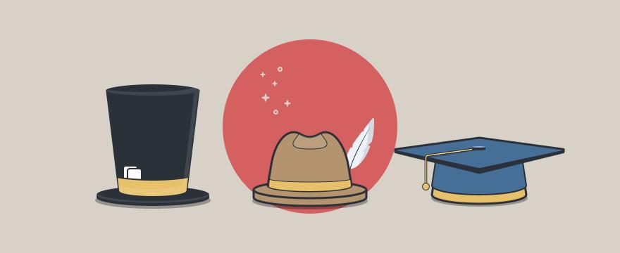 drei Hüte – Aufgaben Customer-Success-Manager