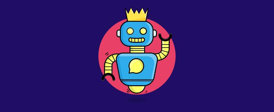 Chatbot mit Krone – die besten Chatbots