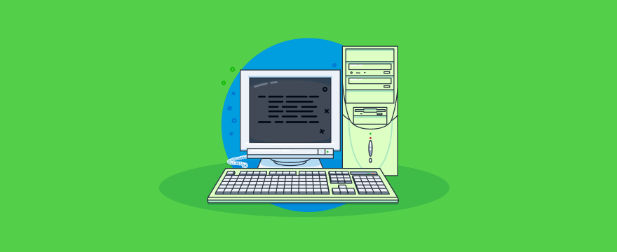 old computer - header image for Using Email for Customer Service – Channel Breakdown Part 2