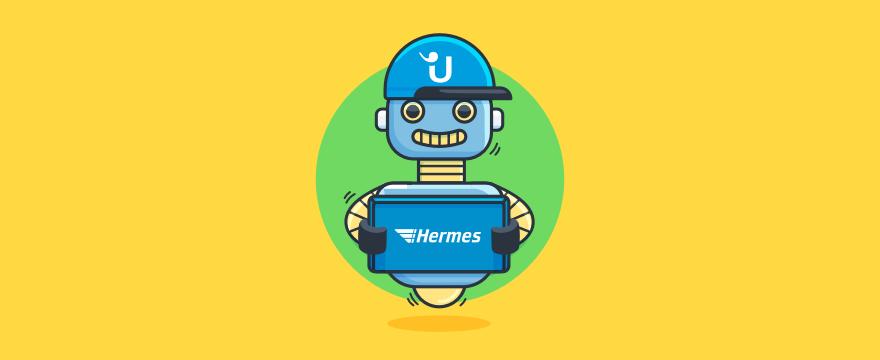 Chatbot - Titelbild für Hermes Deutschland stärkt Conversational Commerce mit Userlike