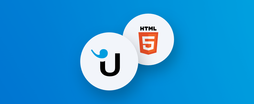 Userlike and HTML icons – title image for post on how to add live chat to your website