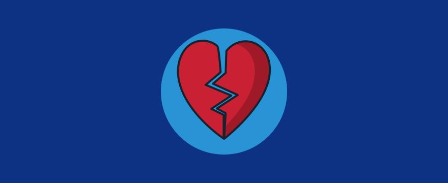 gebrochenes Herz – Umgang mit negativen Bewertungen