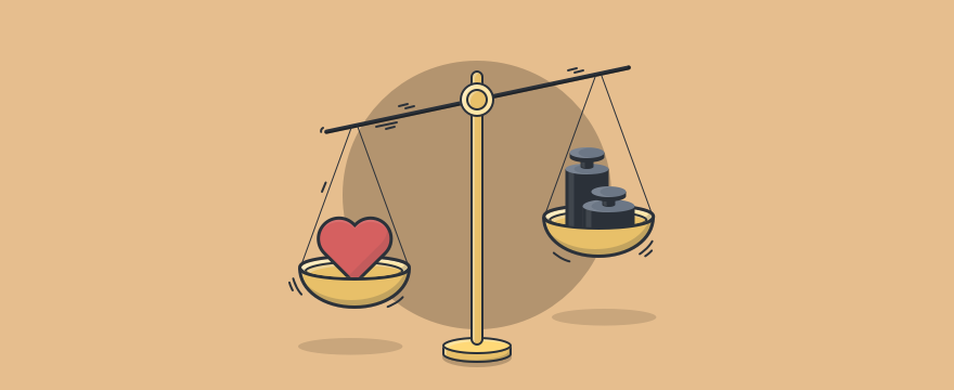 A scale to measure the importance of customer loyalty.