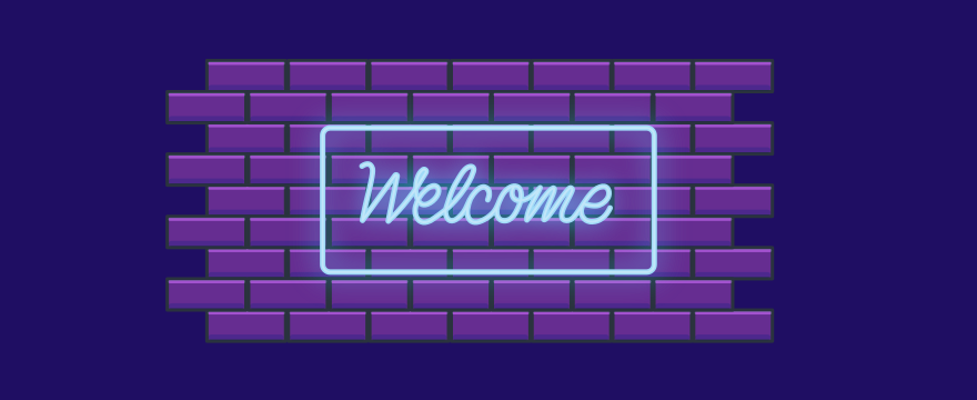 neon welcome sign - header image for  6 Tactics for Performing Effective Inbound Lead Generation