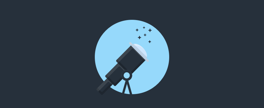 telescope - Header image for blog post customer needs and expectations