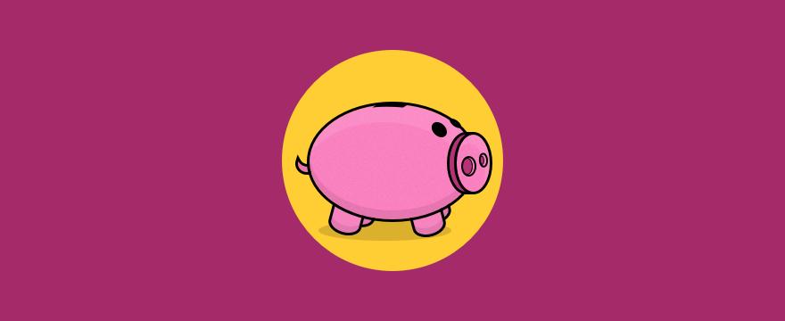 A piggybank.