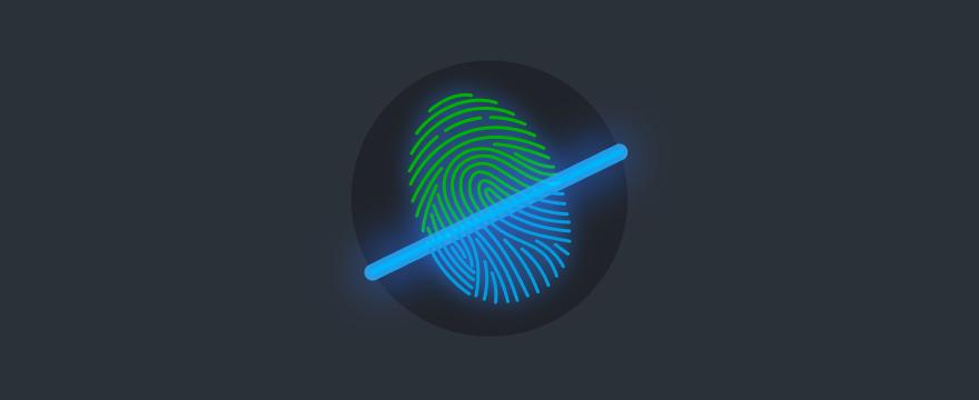 Fingerabdruck-Scan – Titelbild für Blogbeitrag zu Studie zu Datenschutzbedenken bei Messaging-Apps