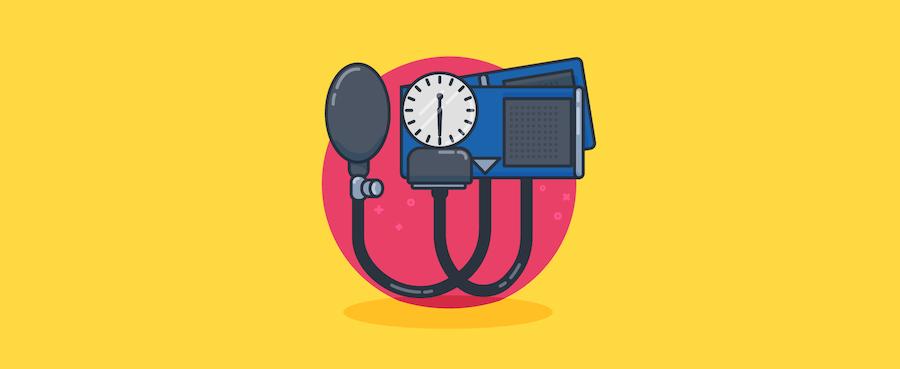 Blood pressure measurer.