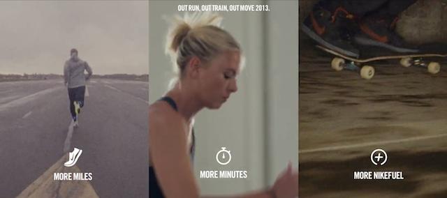 Nike training app screenshot