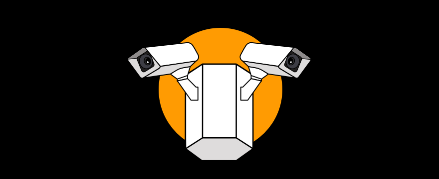 A video surveillance system.