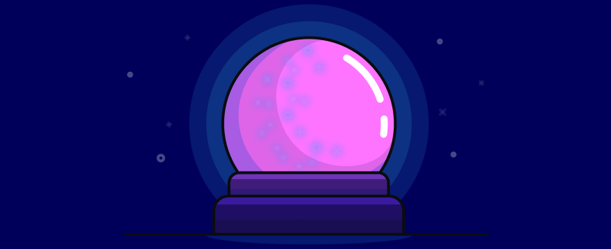 crystal ball - header image for Predictive Lead Scoring: Why It's Essential For Your Business and How To Do It