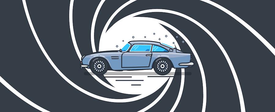 James Bonds Aston Martin