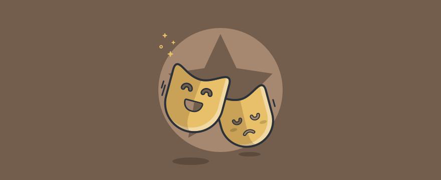 Theater Masken – Rollenspiele im Vertrieb