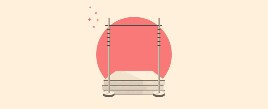 """Stabhochsprung – Headerbild für Blogbeitrag zu """"Servicequalität Kriterien"""""""