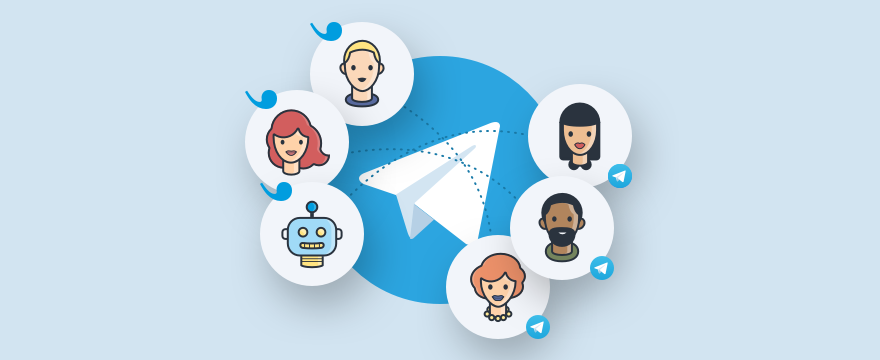Support reps connected with customers via Telegram and Userlike.