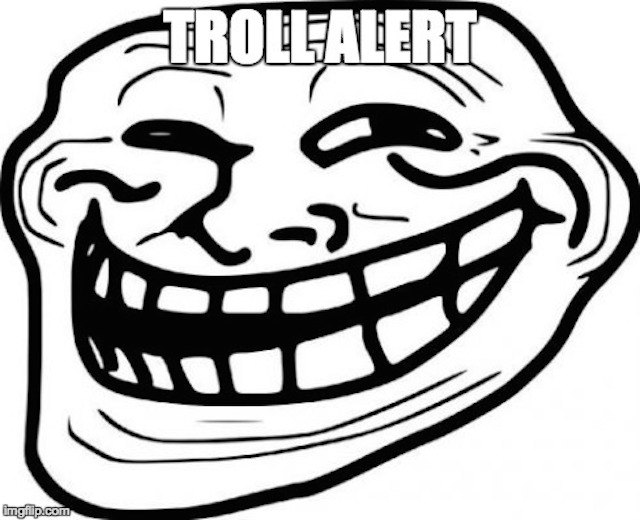 troll alert meme
