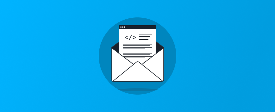 a letter – header image for release update post on Unified Messaging