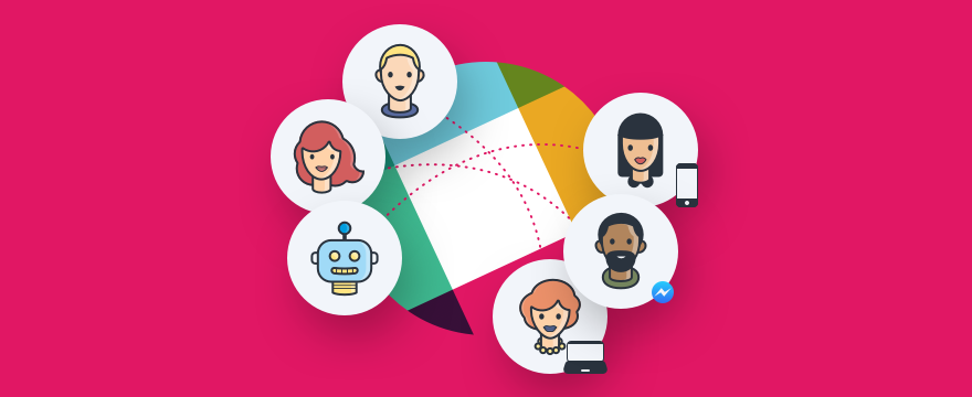 Team using Slack for customer support.