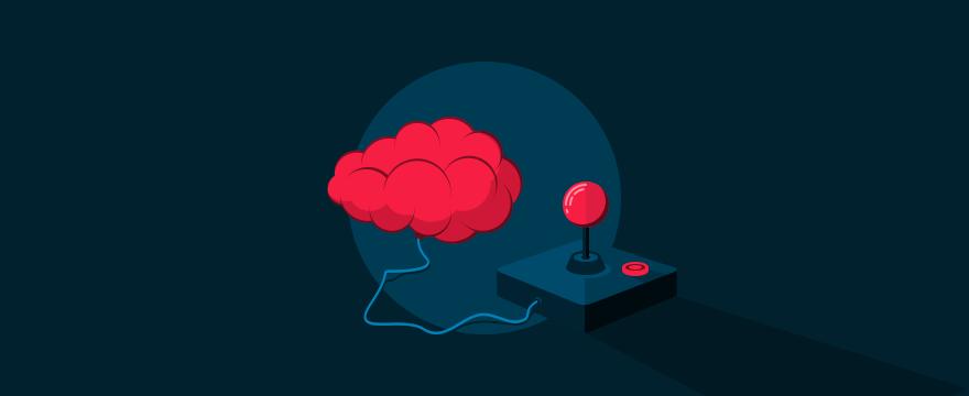 Brains and a joystick.