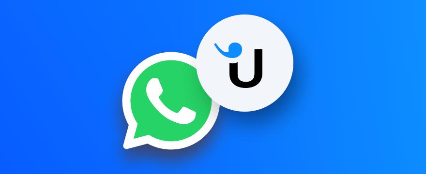 WhatsApp und Userlike Logo – Titelbild für Blogbeitrag zu WhatsApp Business API Account einrichten
